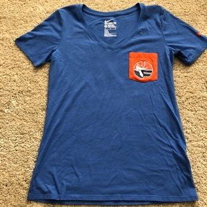 Florida Gators NCAA Womens Athletic Cut Nike Shirt